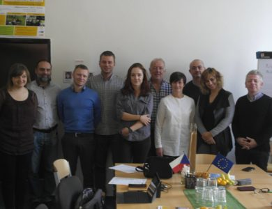 Kick-off Meeting in Sumperk
